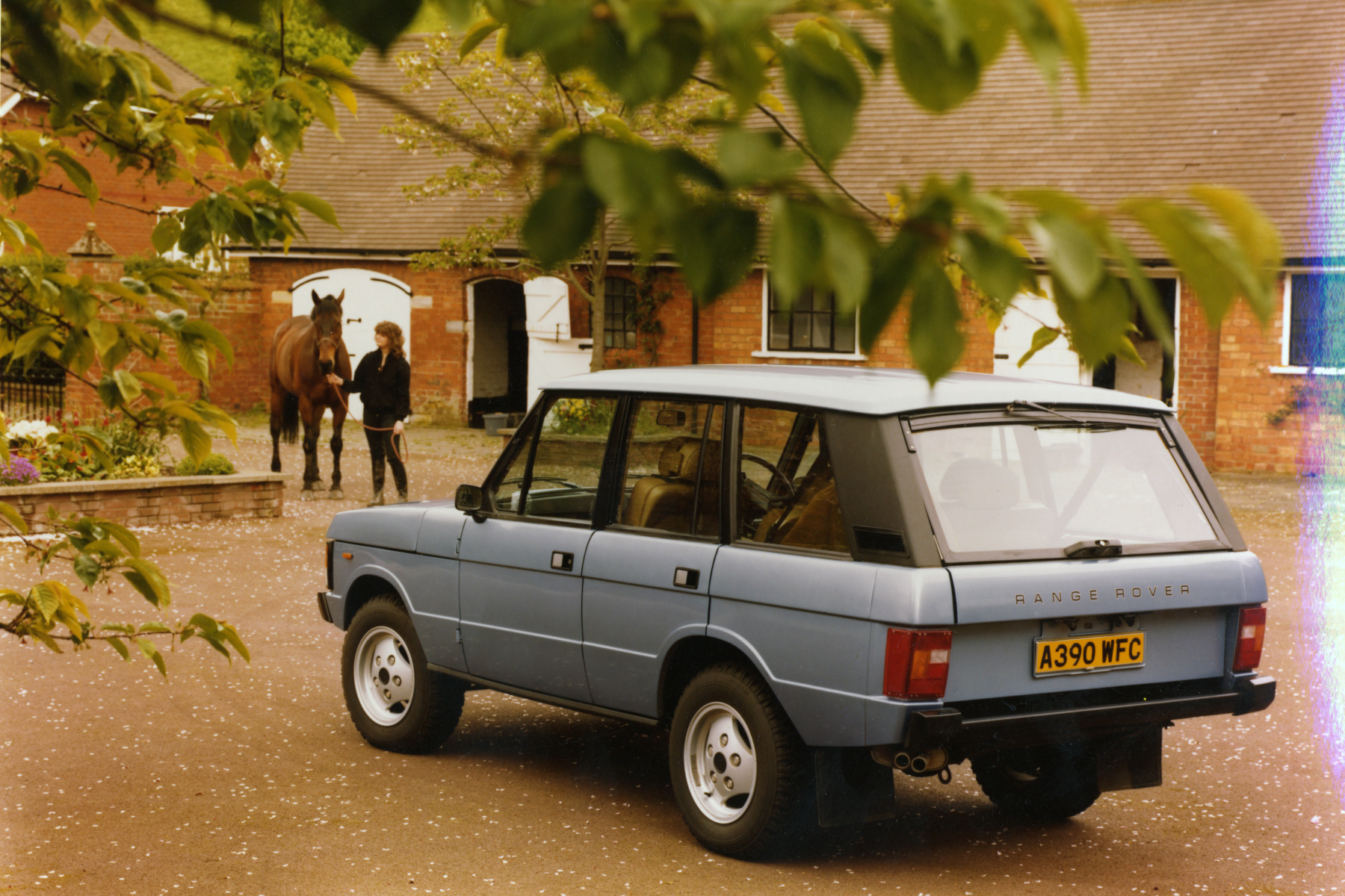 The four-door Range Rover