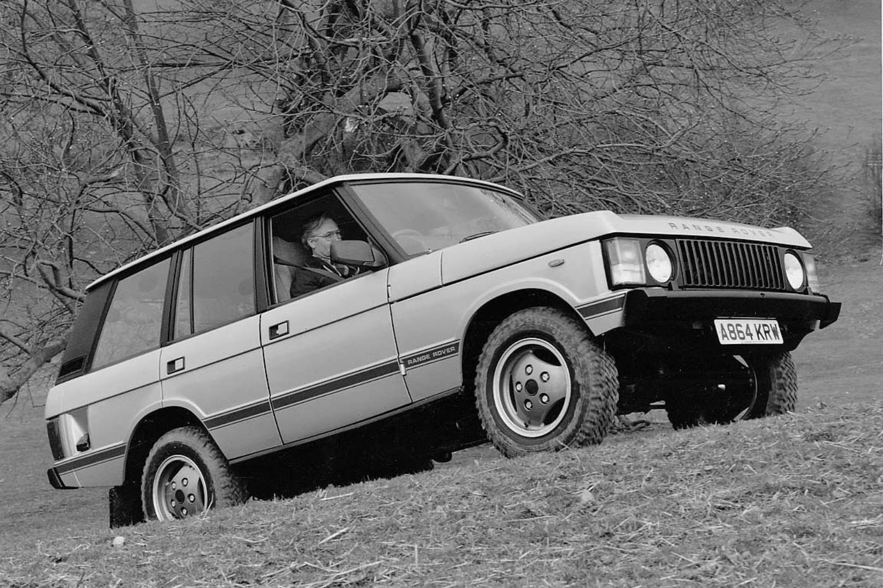 First Range Rover automatic