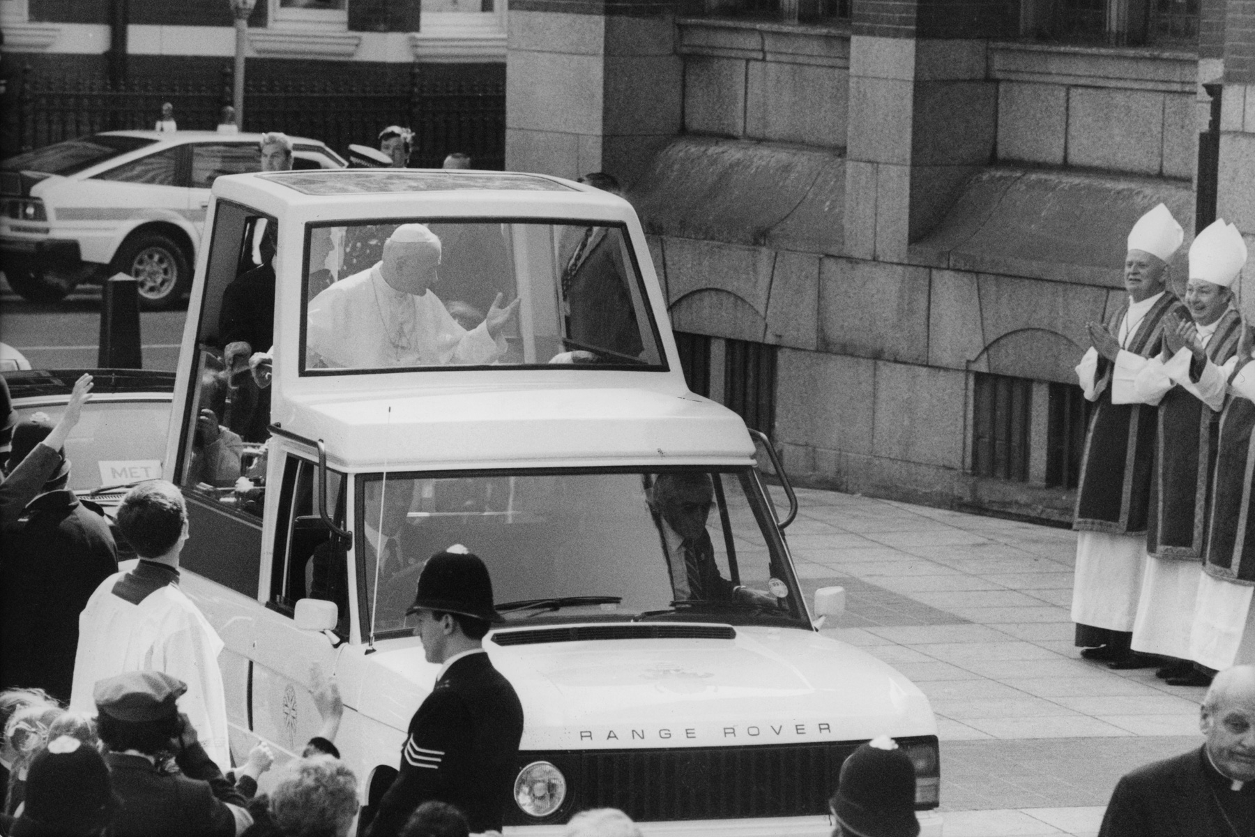 The visit of the Pope