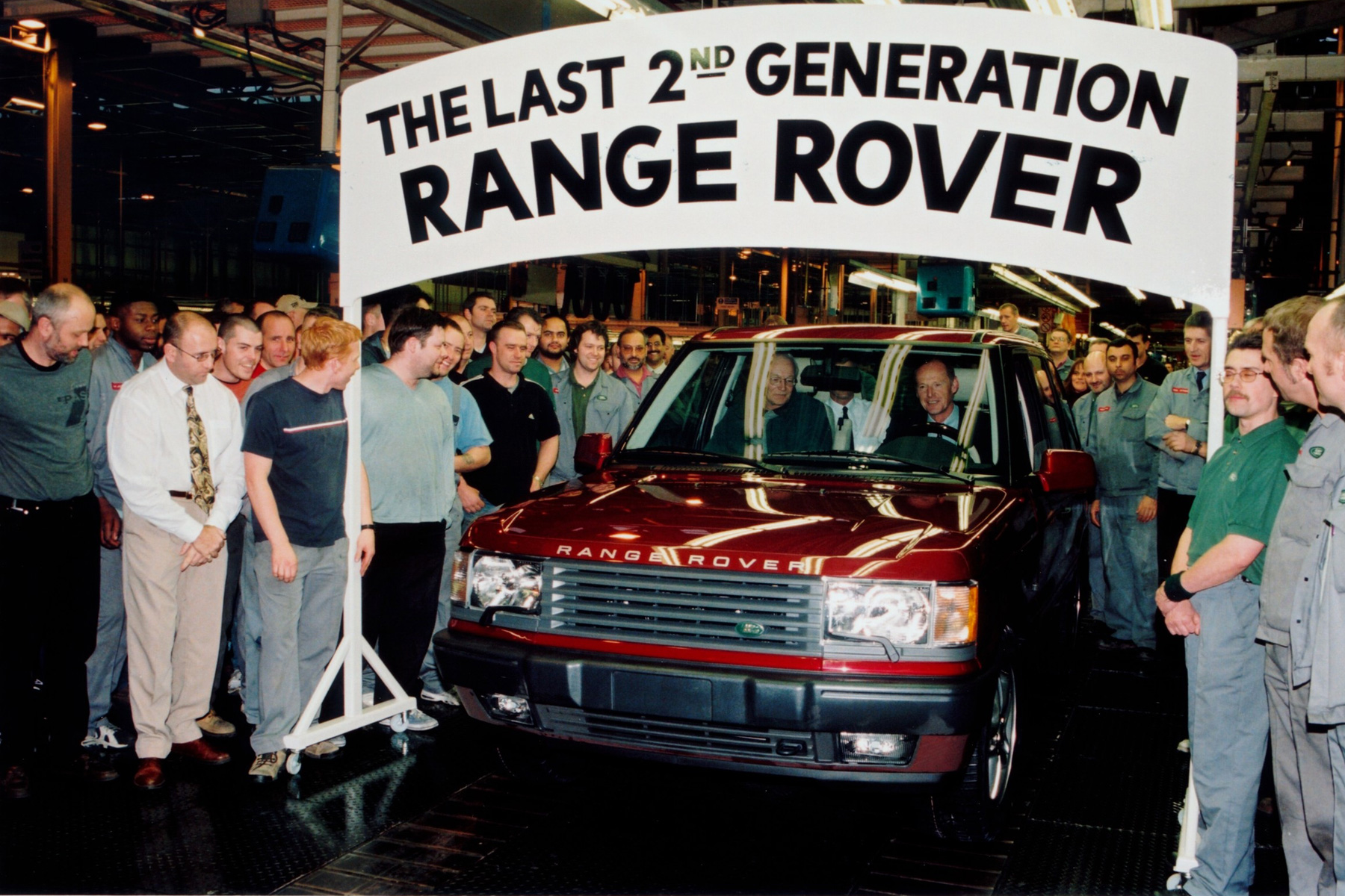 The last Range Rover II