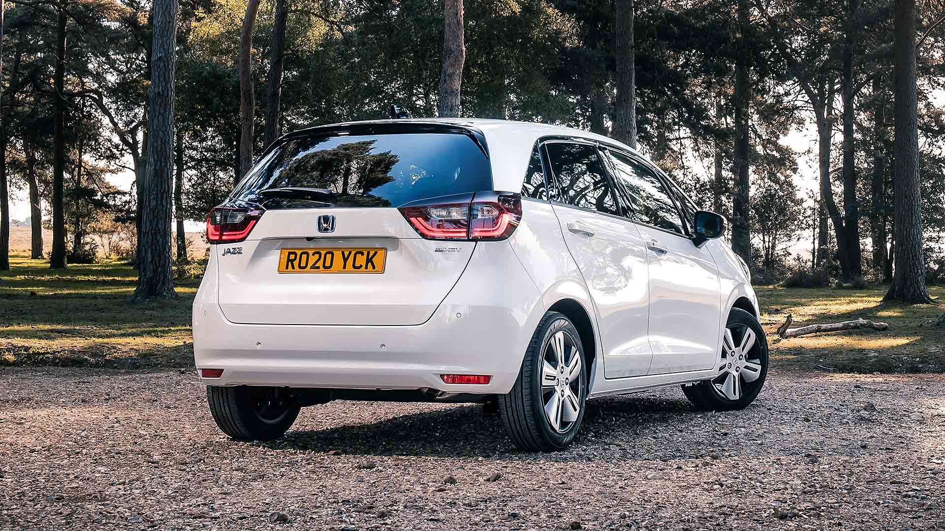 2020 Honda Jazz parked up rear