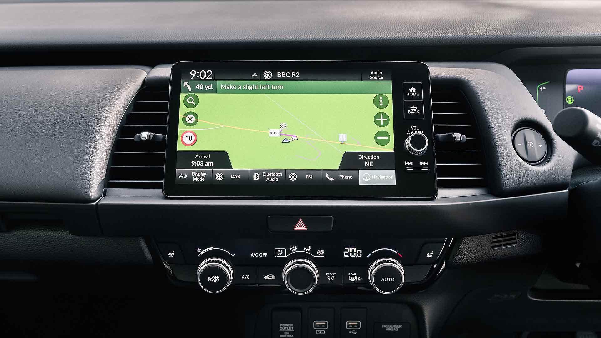 2020 Honda Jazz infotainment