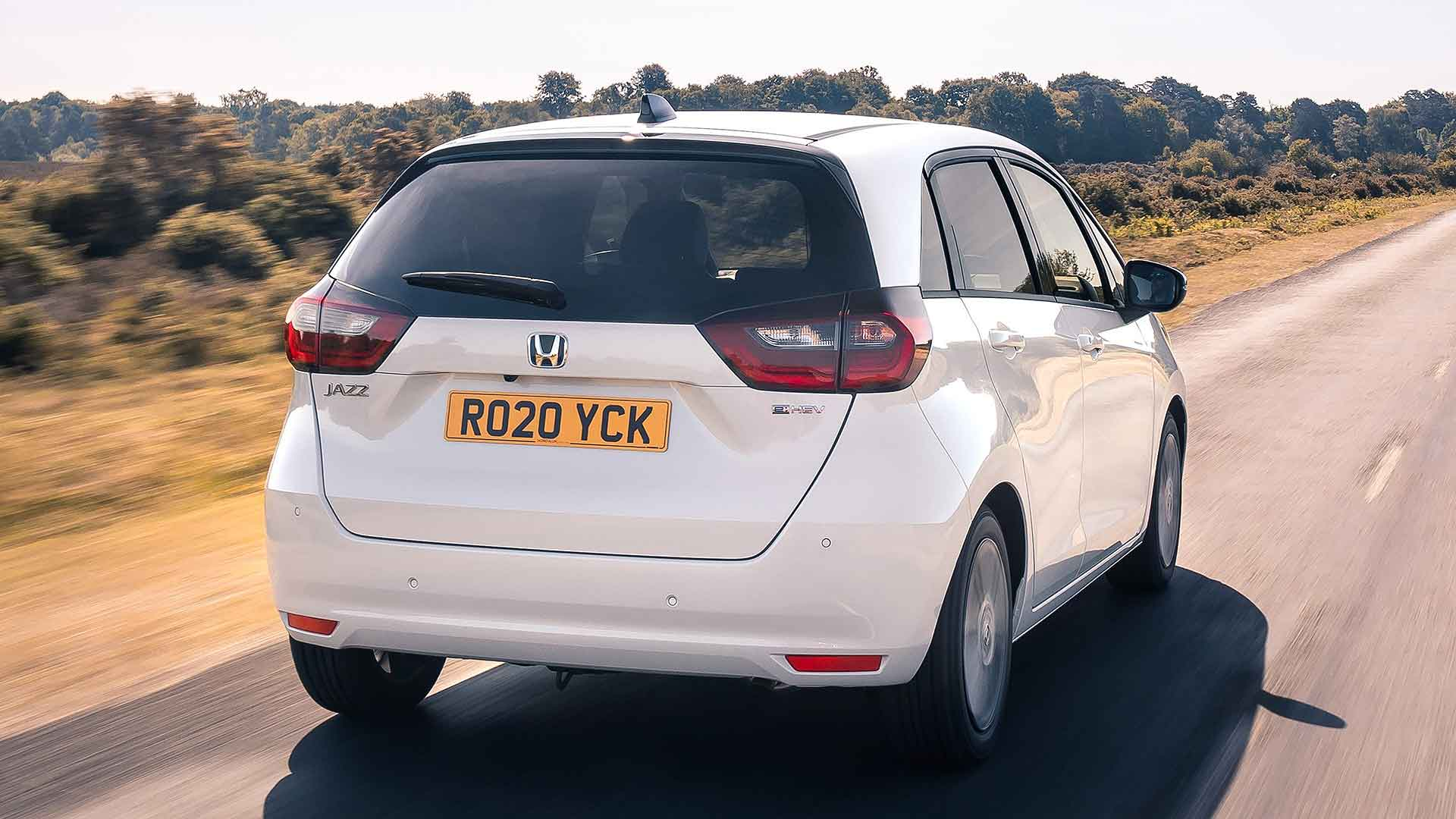 2020 Honda Jazz rear three quarter