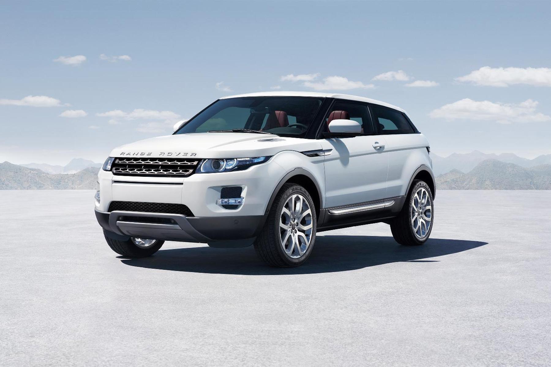 The Range Rover Evoque of 2011