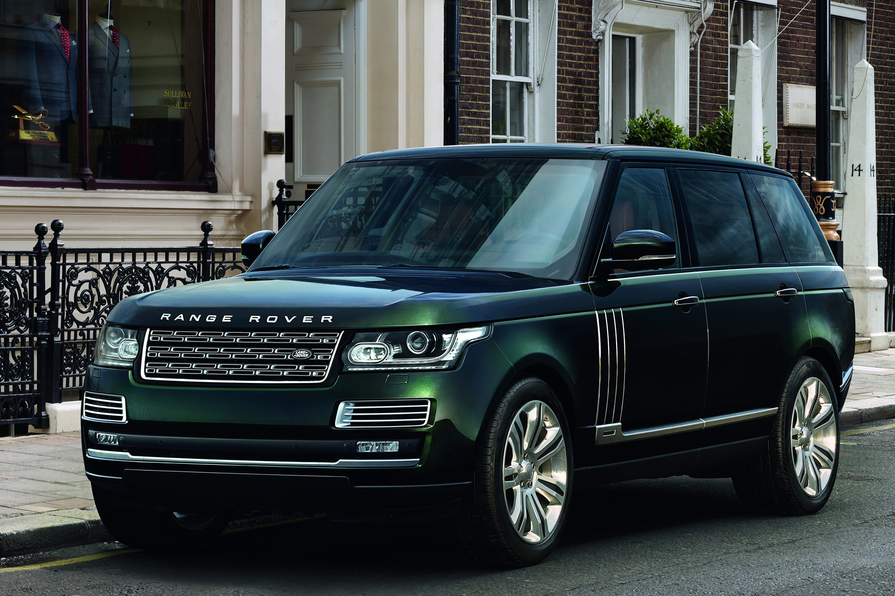 A new Range Rover Holland and Holland