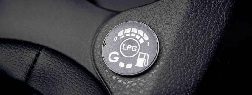 Dacia Logan Bi-Fuel LPG gauge