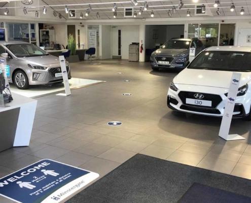 Hyundai Minstergate York new car showroom