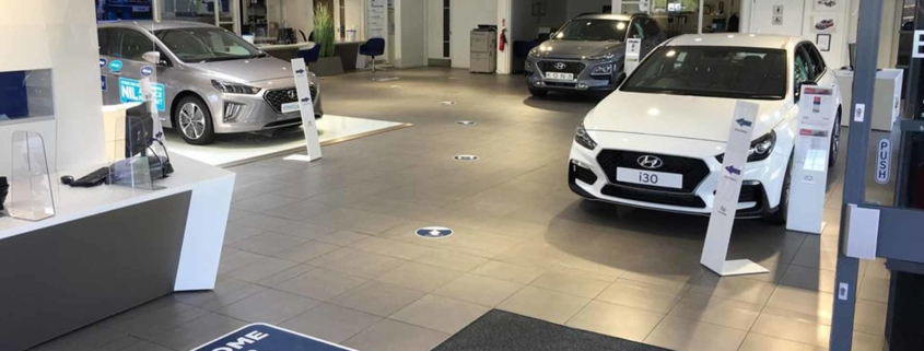 Hyundai Minstergate York new car showroom