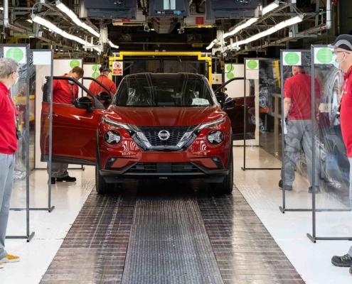 Nissan Motor UK Covid-secure car production