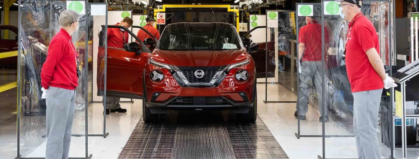 Nissan Motor UK Covid-secure car production