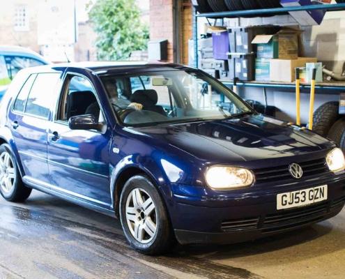 2003 Volkswagen Golf TDI diesel