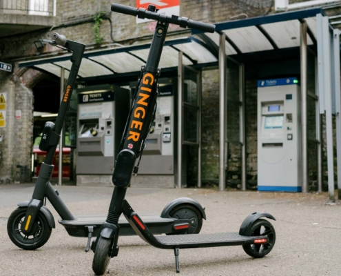 First UK e-scooter trial begins