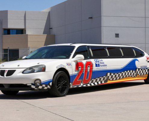 NASCAR Limo Auction Sale