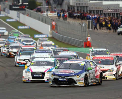 No fans allowed for BTCC at Donington Park