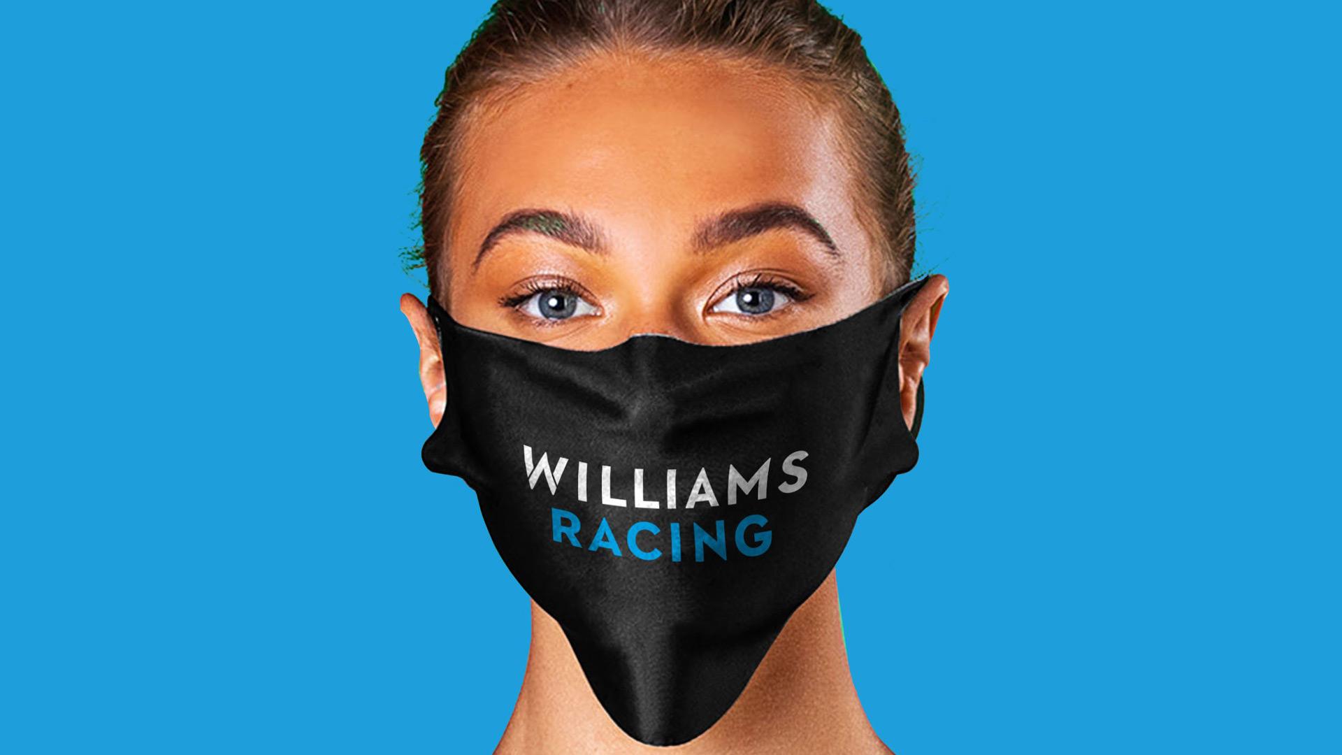 Motorsport face masks