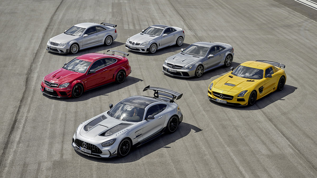 Hammer time – the history of AMG