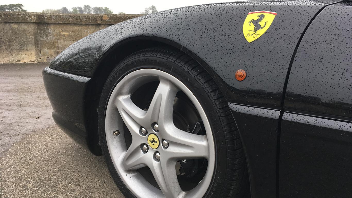 Lamborghini and Ferrari face-off