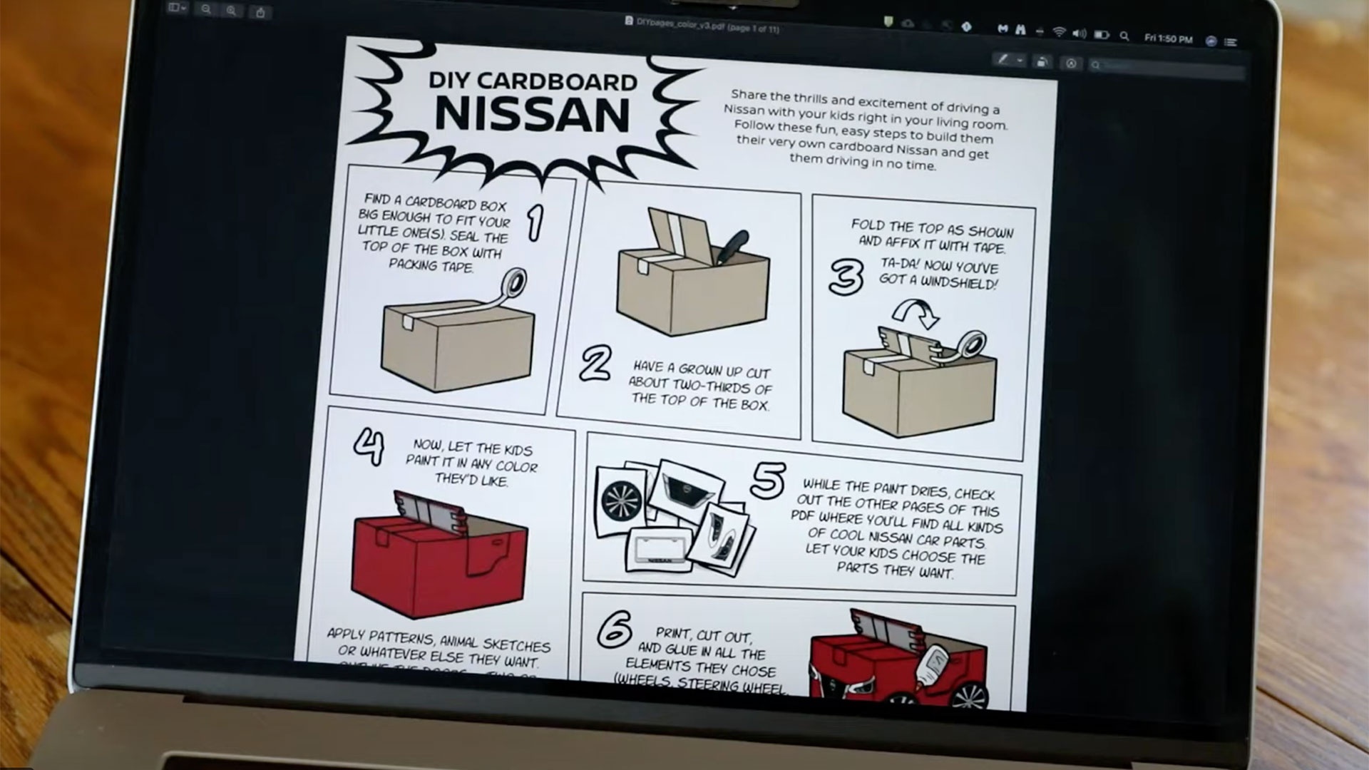 Build your own Nissan Kidster