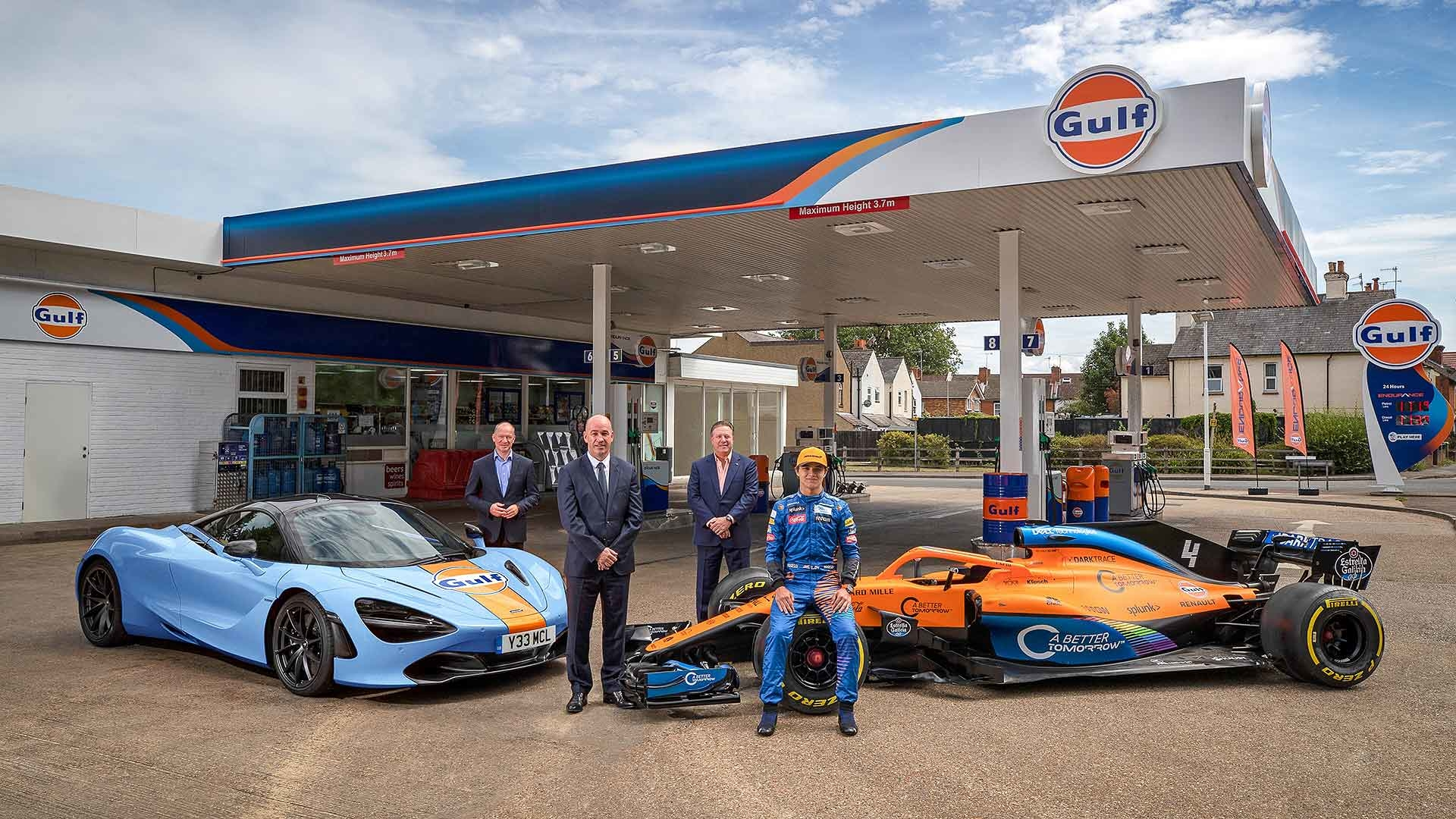 McLaren Automotive and Gulf Oil