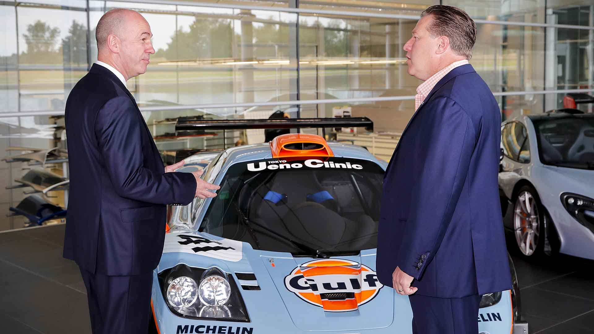 McLaren rekindles Gulf Oil partnership