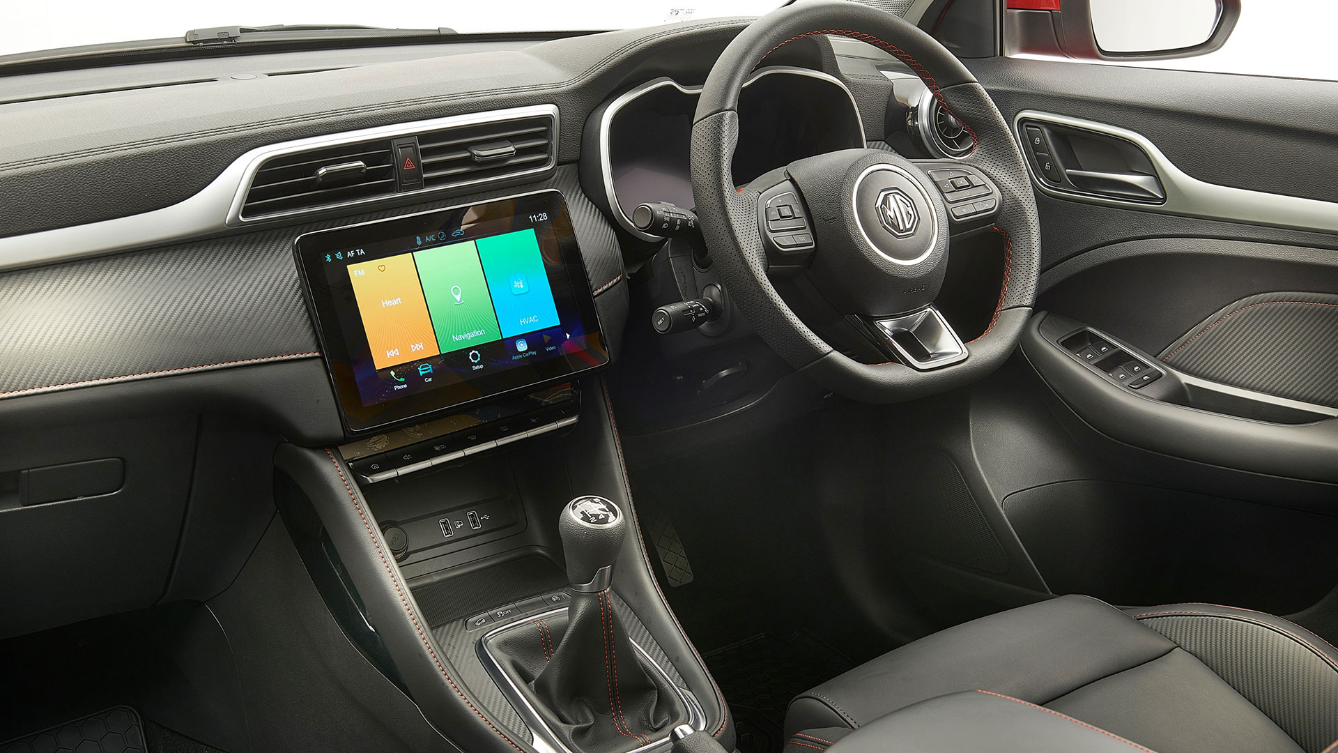 MG ZS 2020 interior
