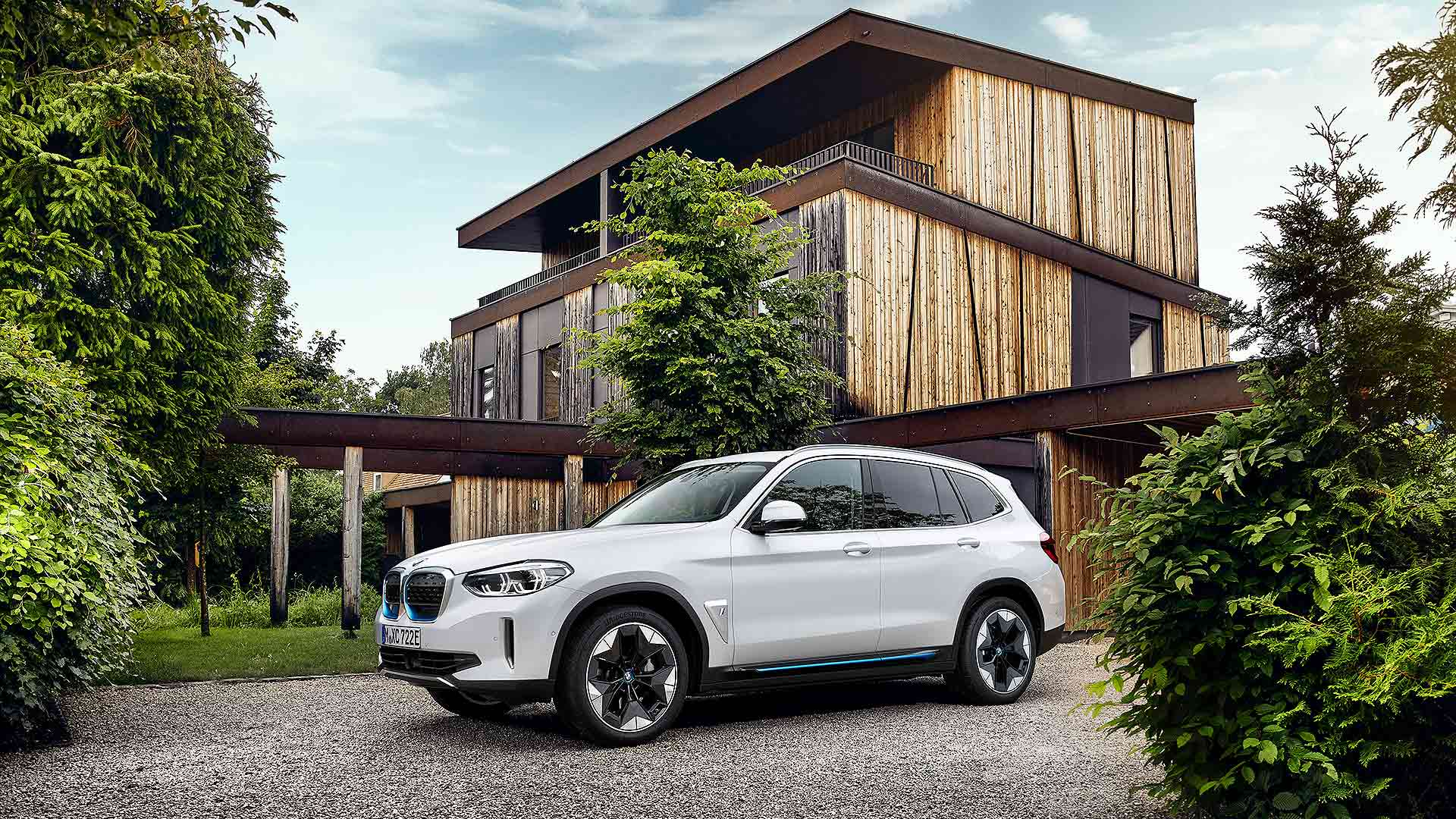 New BMW ix3 electric SUV