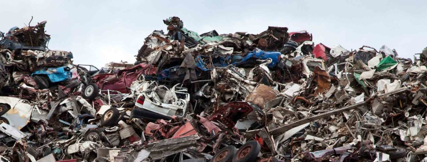 Car scrapyard