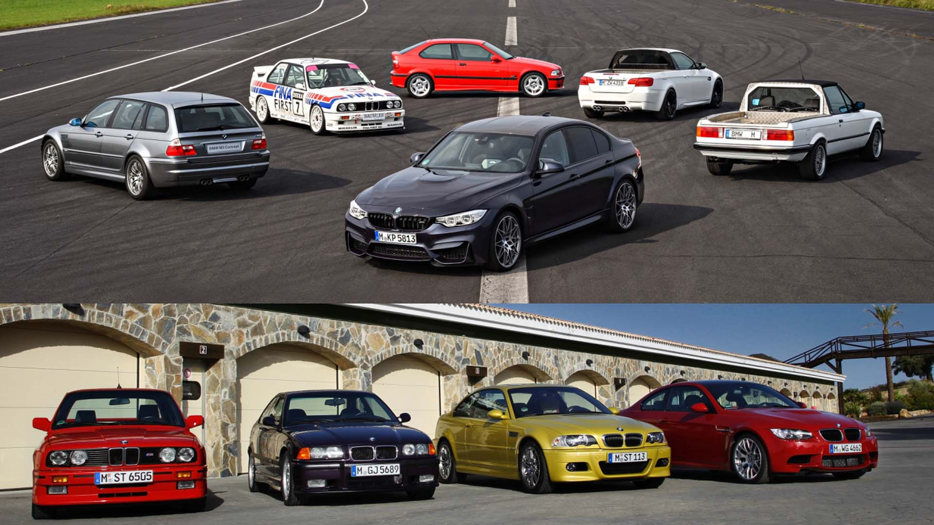 BMW M3 – A history in photos
