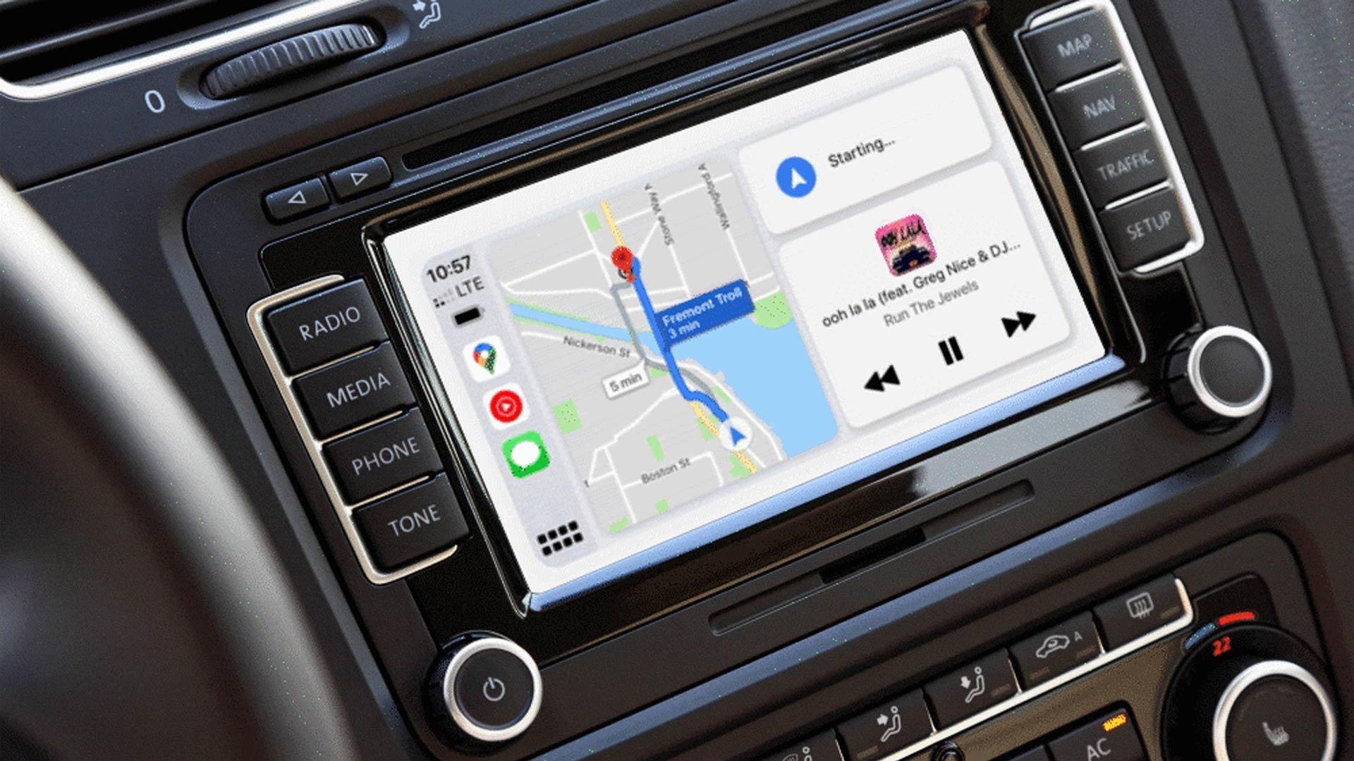 Google Maps Apple CarPlay Update