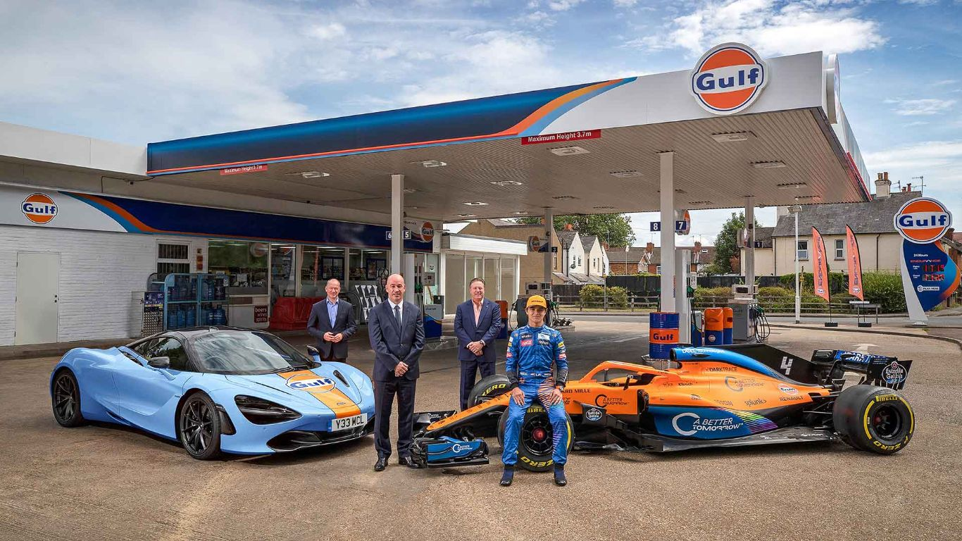 2020 Gulf McLaren 720S