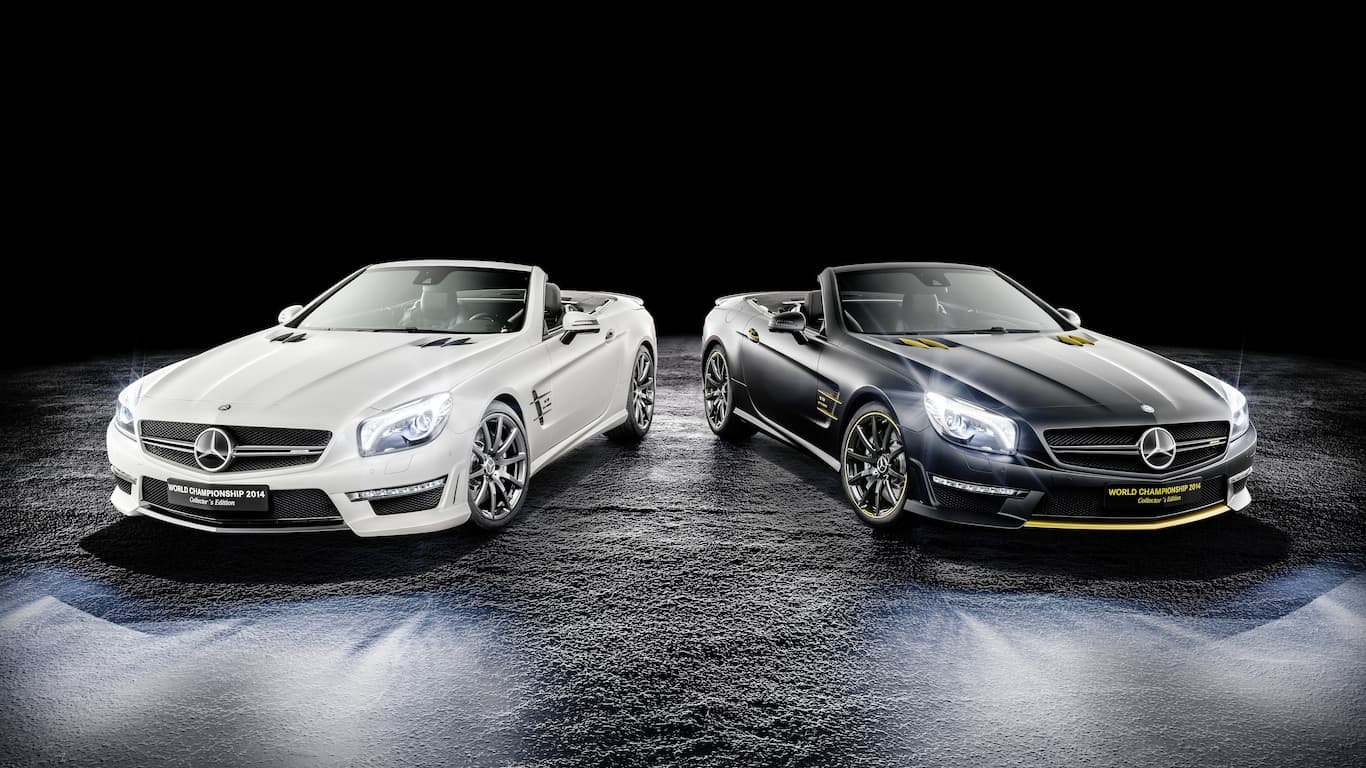 2014 Mercedes-AMG SL 63 World Championship Collector's Edition