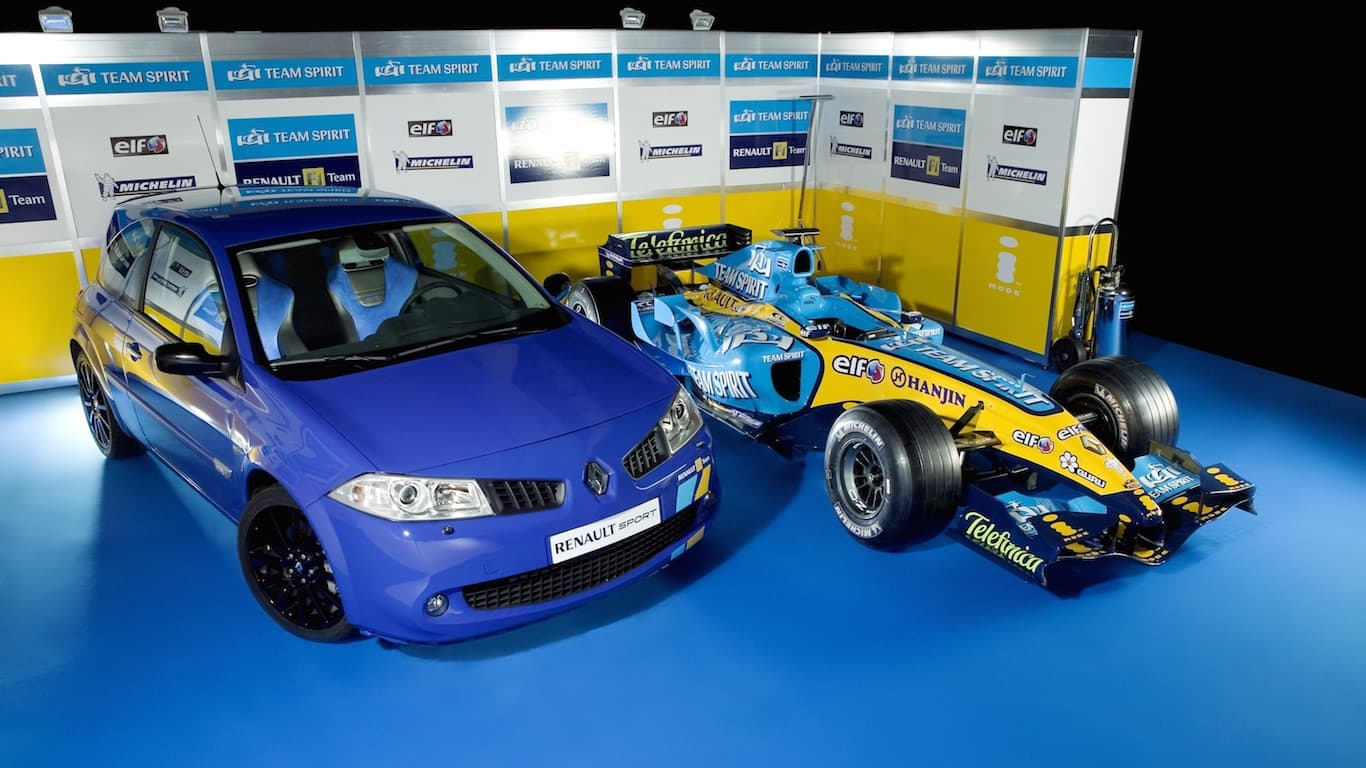 2005 Renault Megane Renaultsport 225 F1 Team