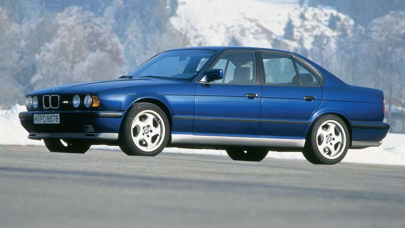 1991 BMW E34 M5 Cecotto and Winkelhock Editions