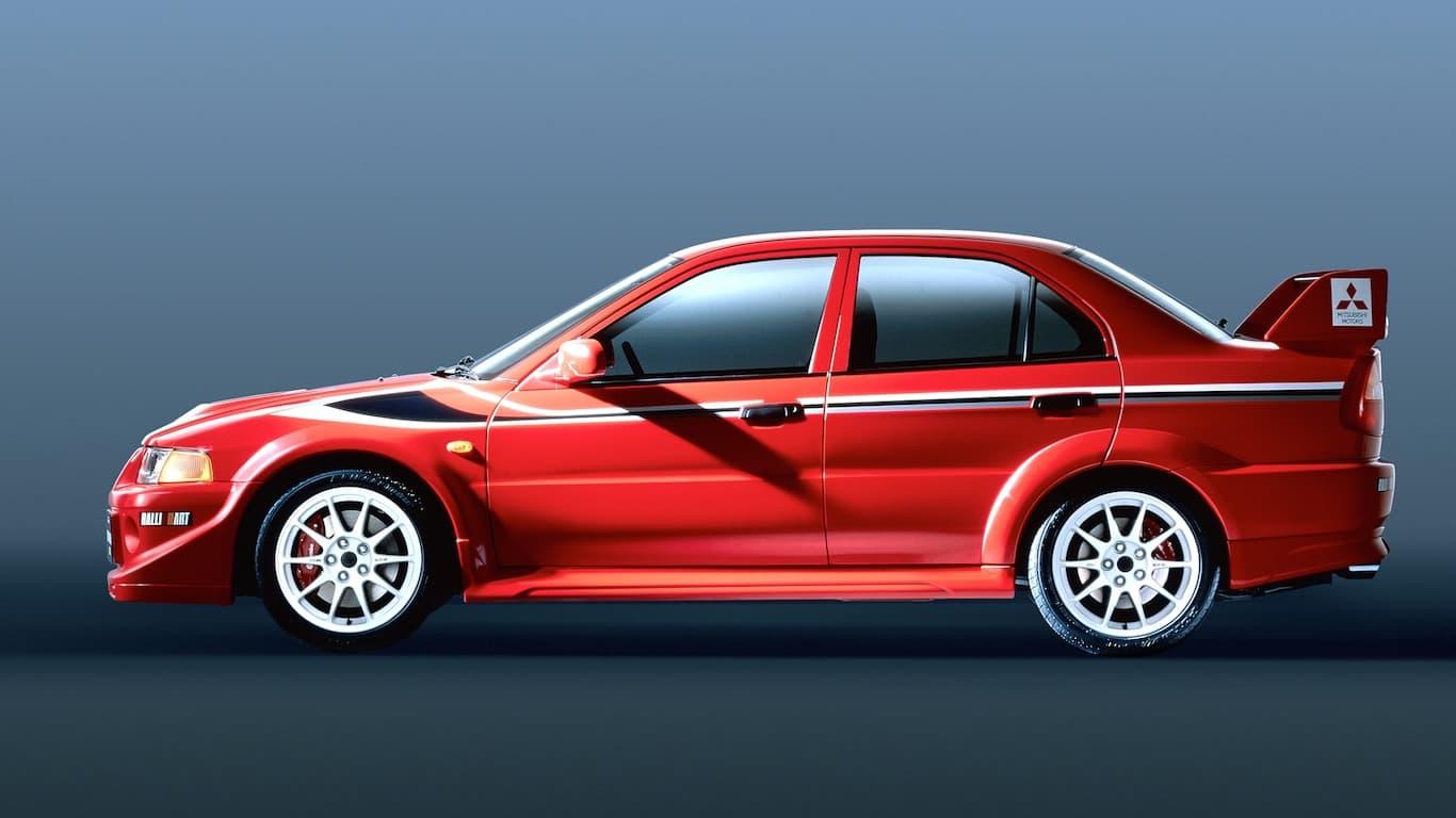 1999 Mitsubishi Lancer Evolution VI Tommi Makinen Edition