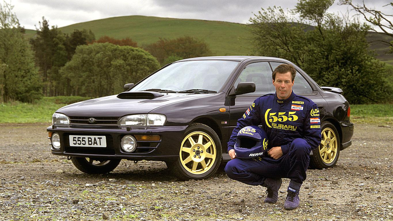1995 Subaru Impreza Turbo 2000 Series McRae