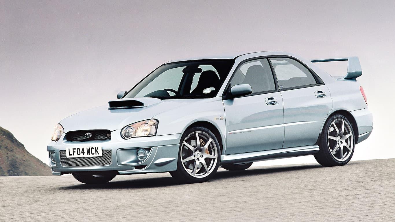 2004 Subaru Impreza WRX STI WR1