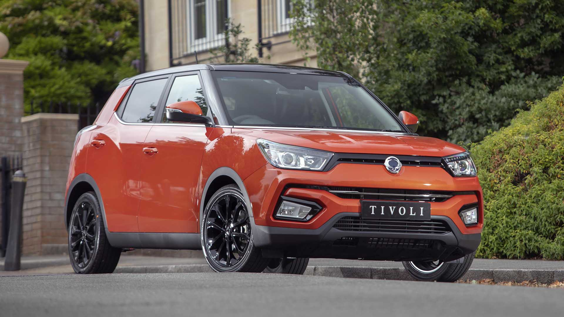 SsangYong Tivoli – from £13,995