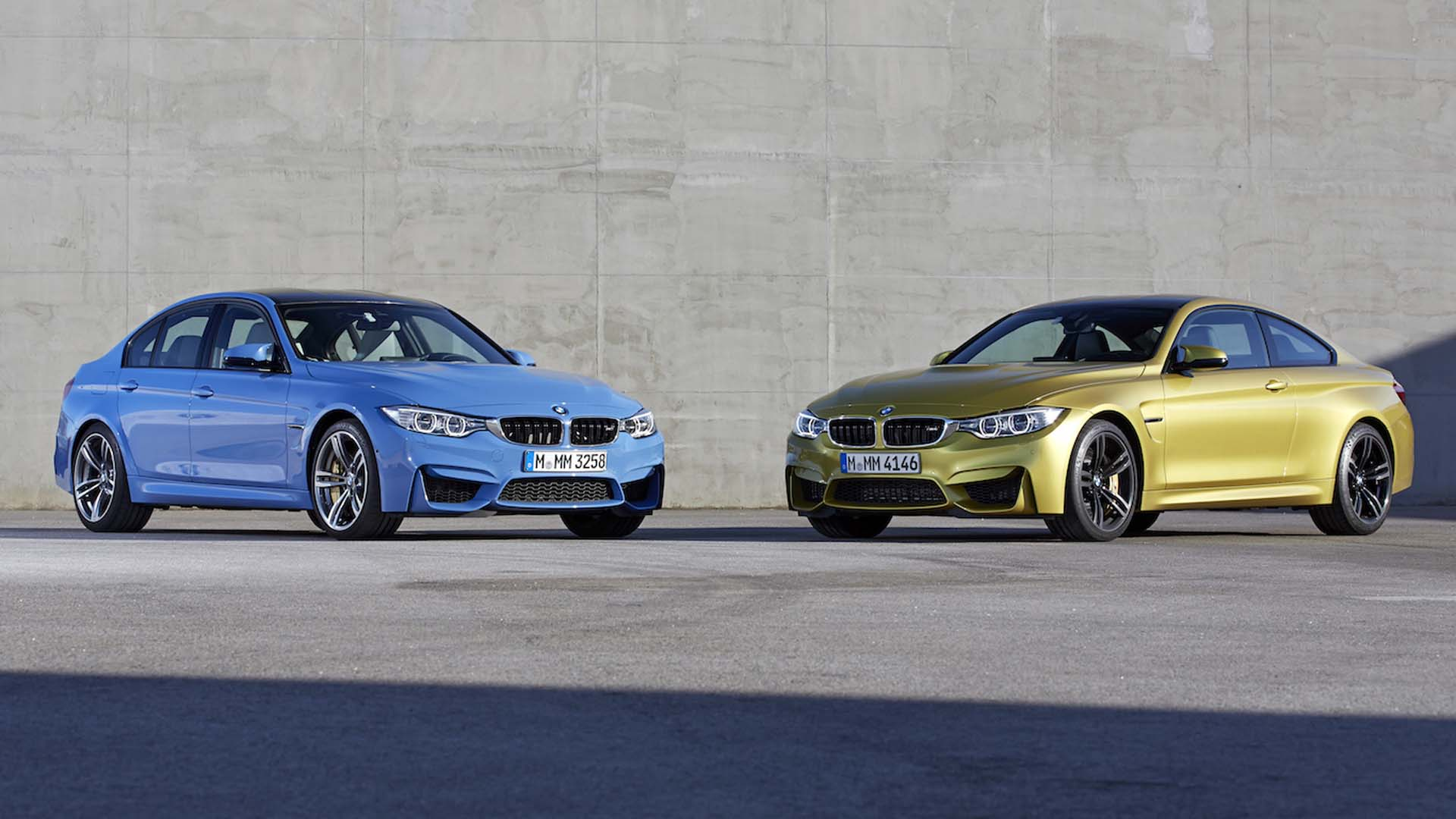 2014 BMW F80 M3 Saloon and F82 M4 Coupe