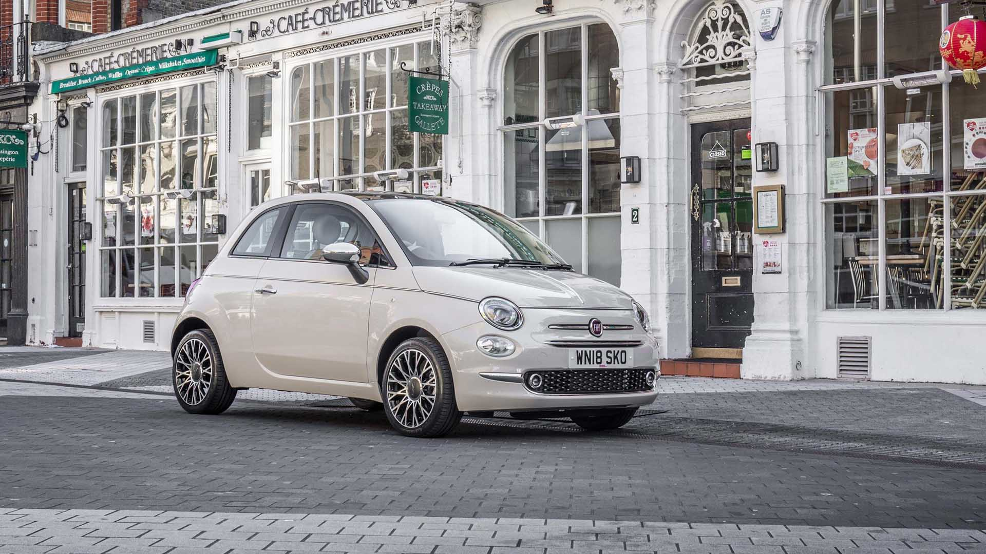 Fiat 500 – from £13,020