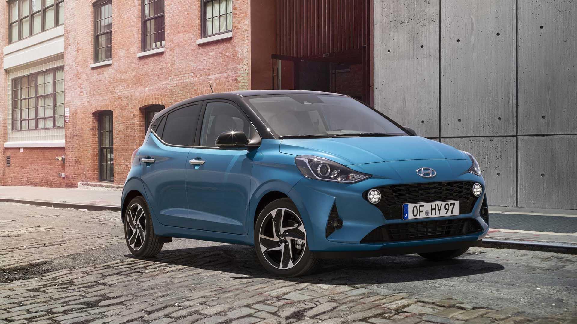 Hyundai i10 – from £12,820