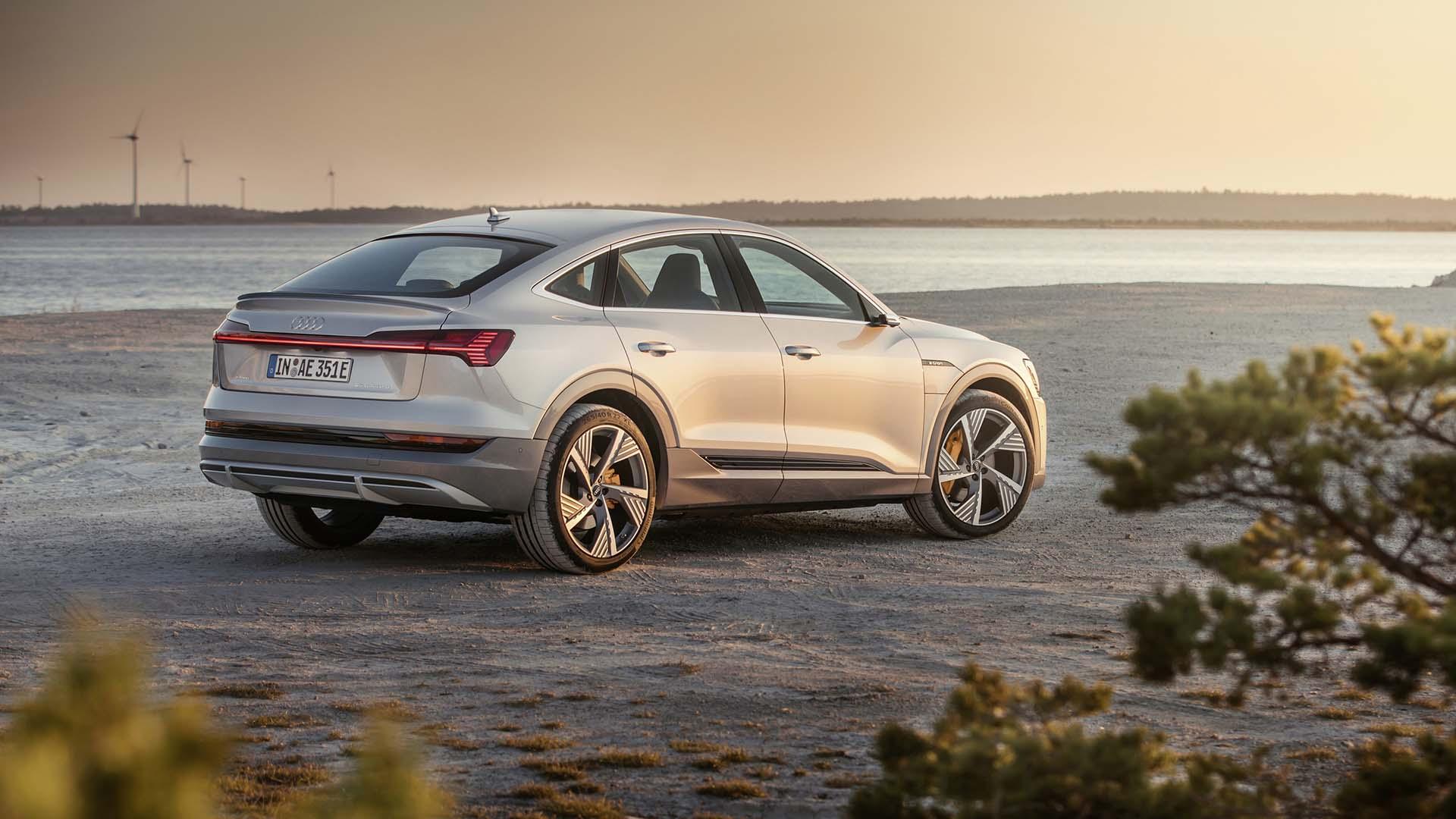 Audi E-tron Sportback – 240 miles