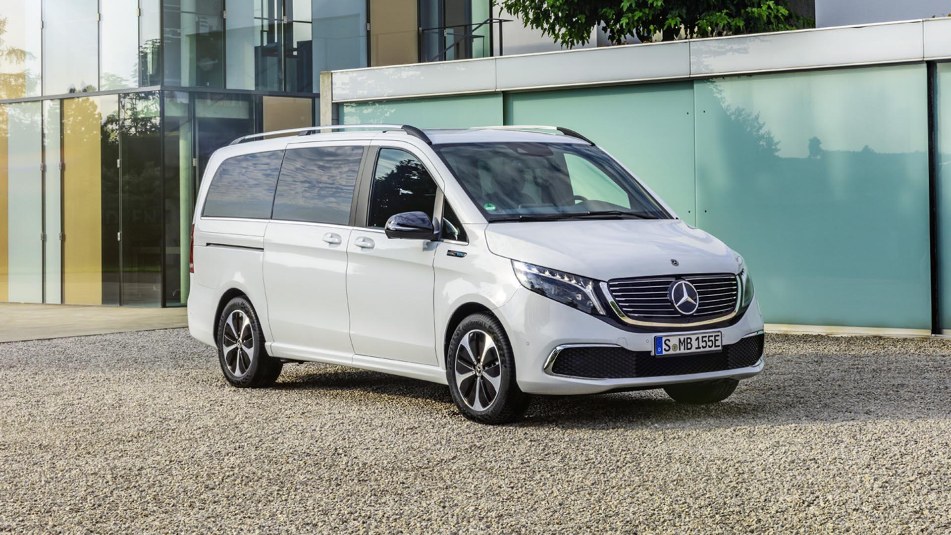 Mercedes-Benz EQV – 261 miles