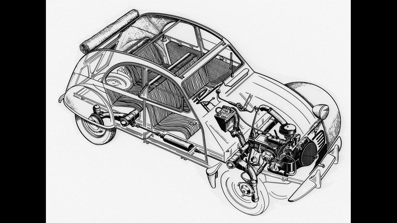 70 years of the Citroen 2CV