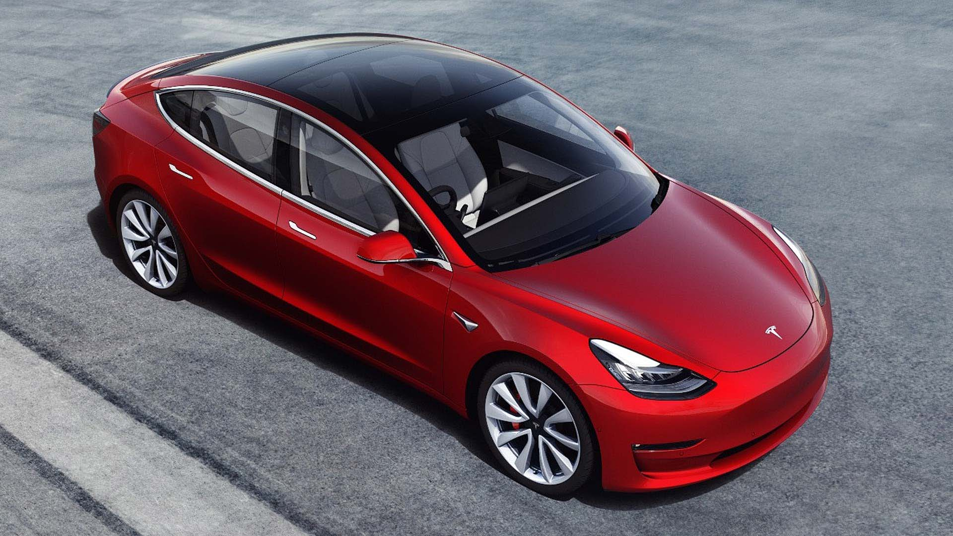 Tesla Model 3 – 348 miles