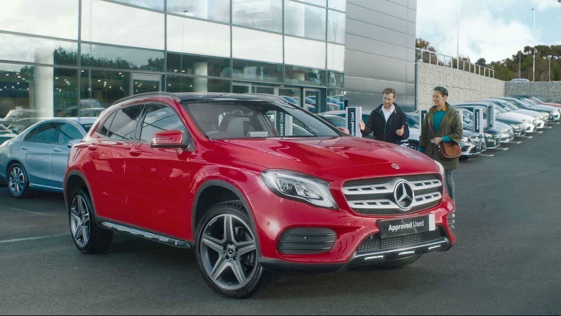 Mercedes-Benz used car sales