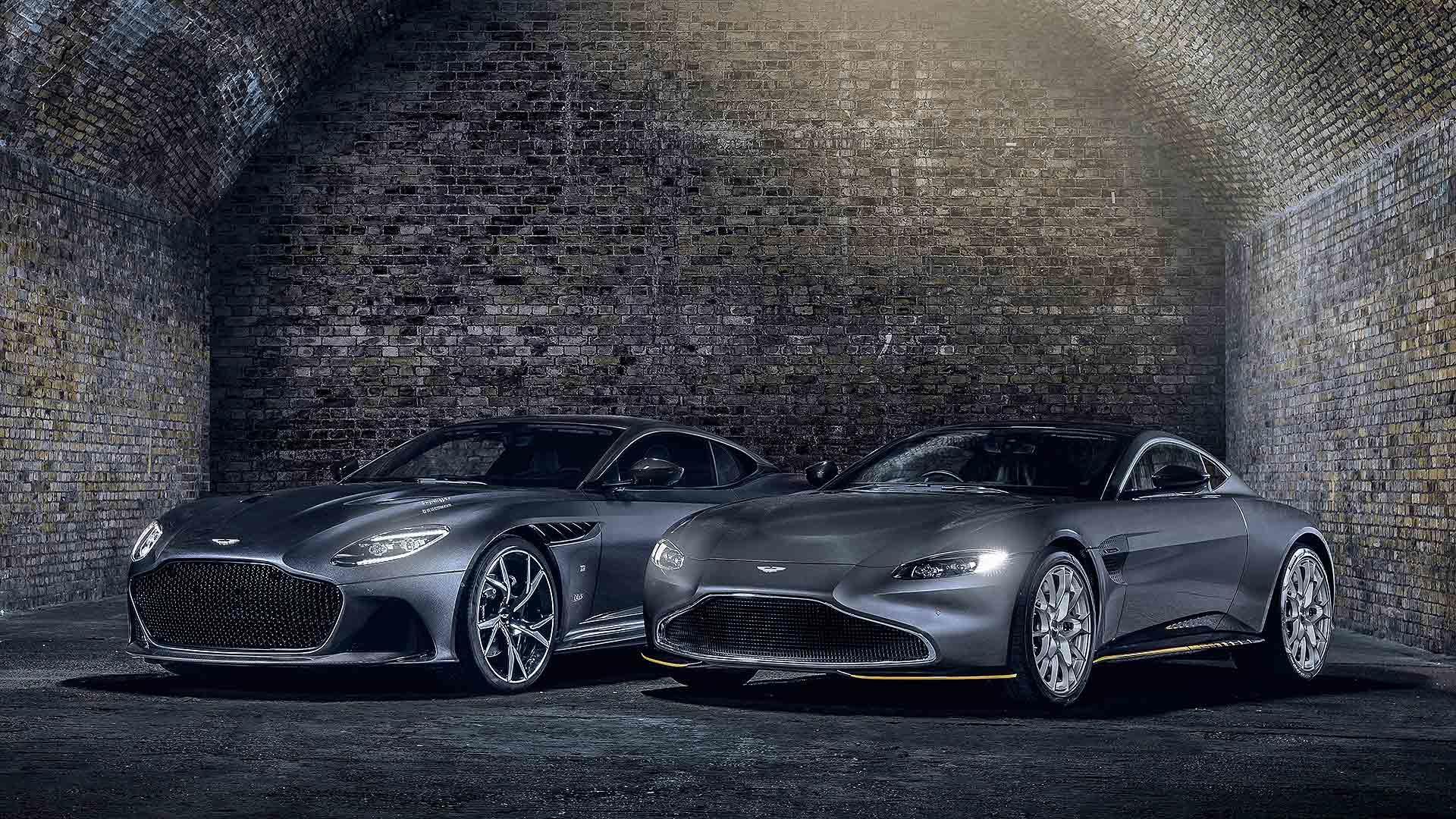 Aston Martin Vantage 007 Edition and DBS Superleggera 007 Edition