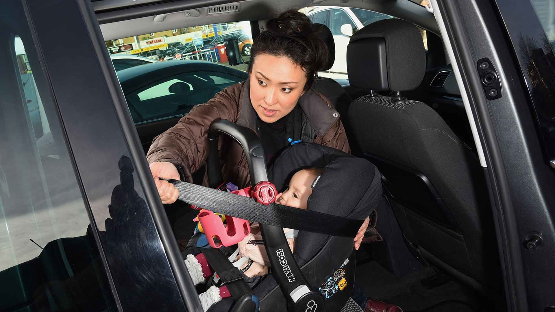 Car child seat confusion