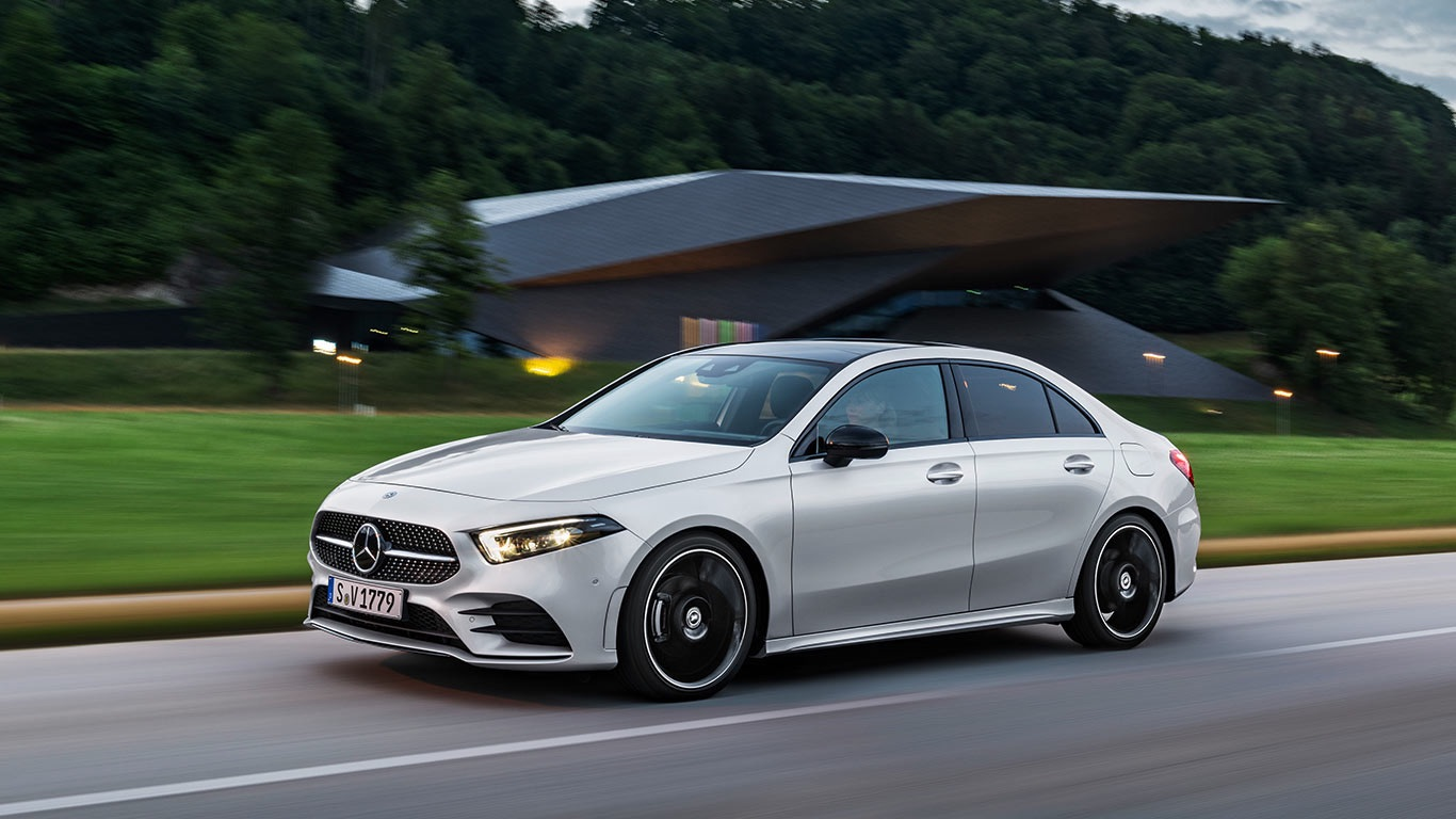 Mercedes-Benz A-Class Saloon – 0.22 Cd