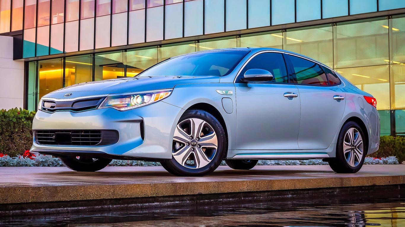 2016 Kia Optima Hybrid - 0.25 Cd