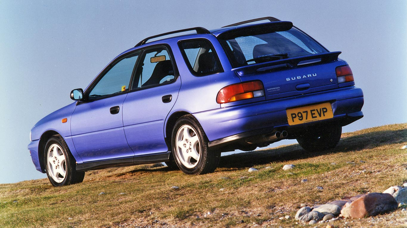 1997 Subaru Impreza Turbo 2000 Wagon